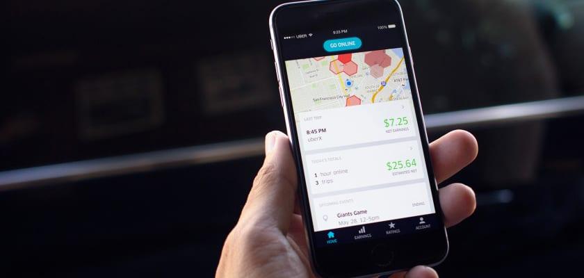 El negocio de conducir en la App de Uber